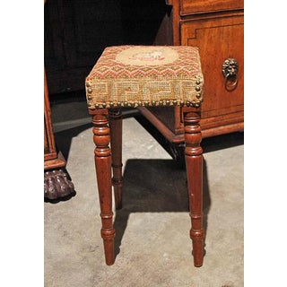 English Stool With Lion Preview