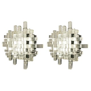 1960s Poliarte Wall Lights, Italy - a Pair For Sale