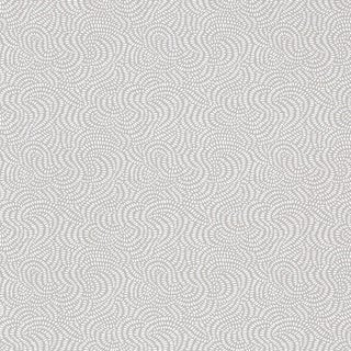 Schumacher Whirlpool Wallpaper in Mist For Sale