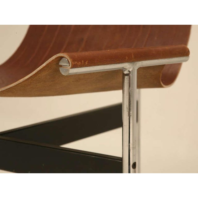 """Original Vintage """"T"""" Chair by Katavolos, Kelly & Littell for Laverne International - Image 3 of 11"""