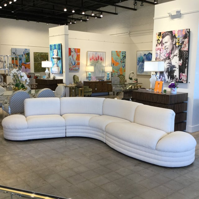 Vintage 3 Piece Sectional For Sale - Image 9 of 9