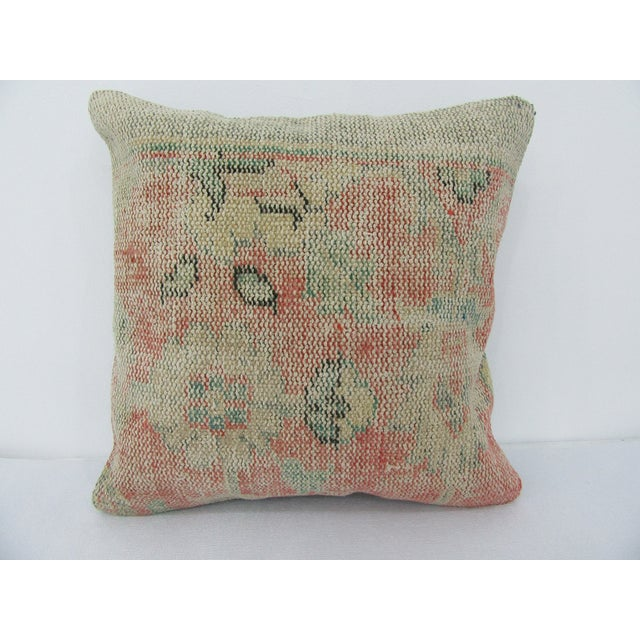 Turkish Decorative Handmade Vintage Pillow For Sale - Image 4 of 4