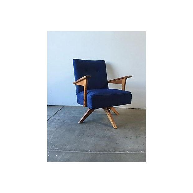 Mid-Century Rocker Swivel Chair - Image 4 of 8