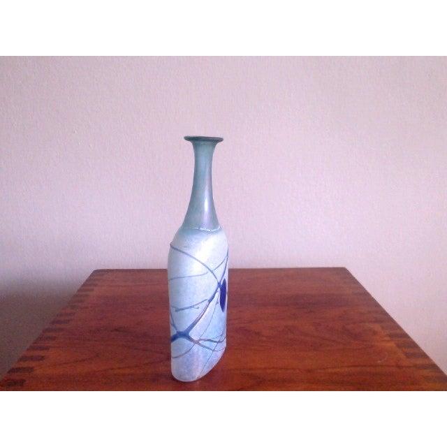 Bertil Vallien Galaxy Kosta Boda Bottle Vase - Image 5 of 6