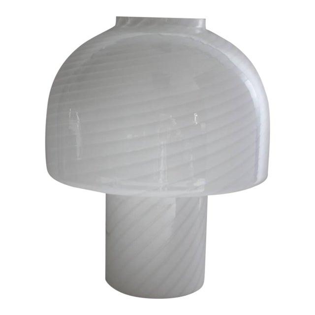 Vintage Vistosi Murano Mushroom Table Lamp For Sale