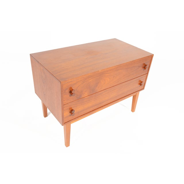 Danish Modern Two-Drawer Chest - Image 4 of 9