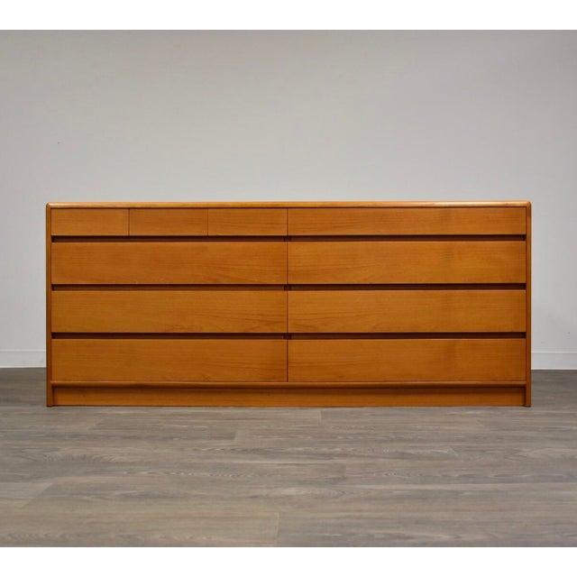 Danish Modern Teak Dresser by Nordisk Andels-Eksport For Sale - Image 12 of 12