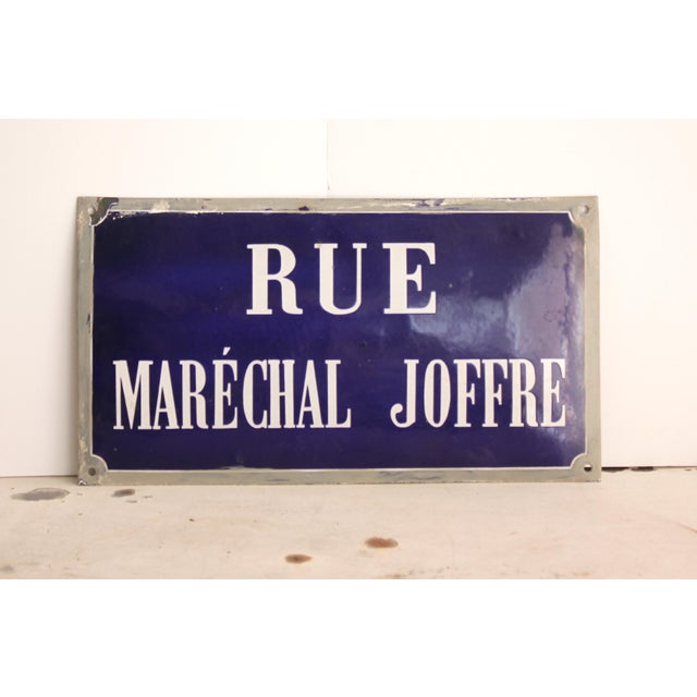 French Enamel Street Sign - Image 3 of 4