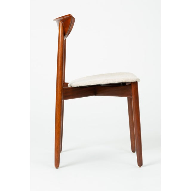 Set of Four Dining Chairs by Harry Østergaard for Randers Møbelfabrik For Sale - Image 11 of 13