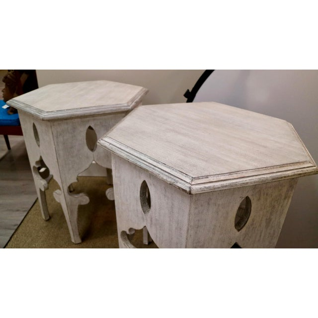 Wood Moroccan Tables For Sale - Image 7 of 8