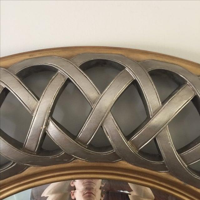 Chinese Round Decorative Mirror - Image 6 of 8