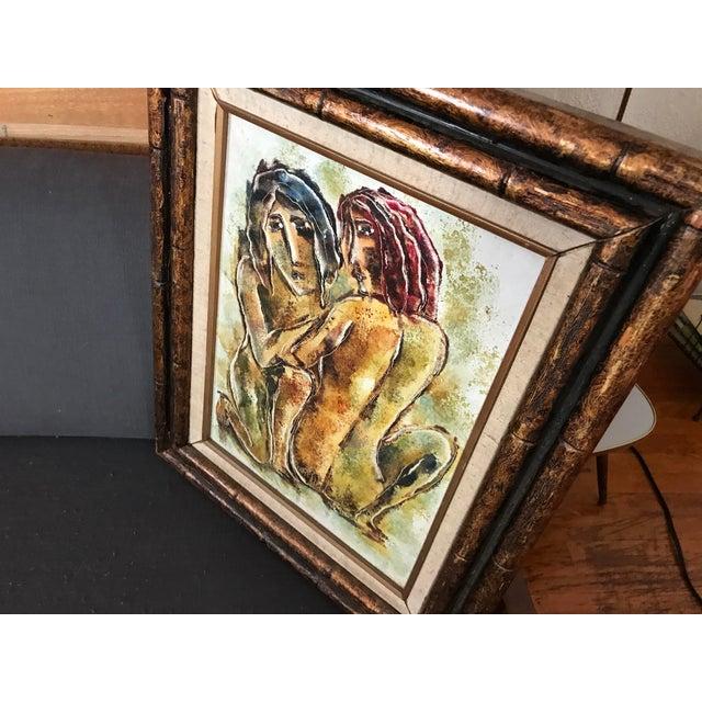Original Calvin Waller Burnett Oil Painting For Sale - Image 5 of 9
