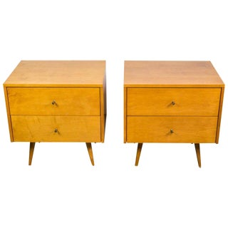 Pair of Planner Group Nightstands by Paul McCobb for Winchendon Furniture For Sale
