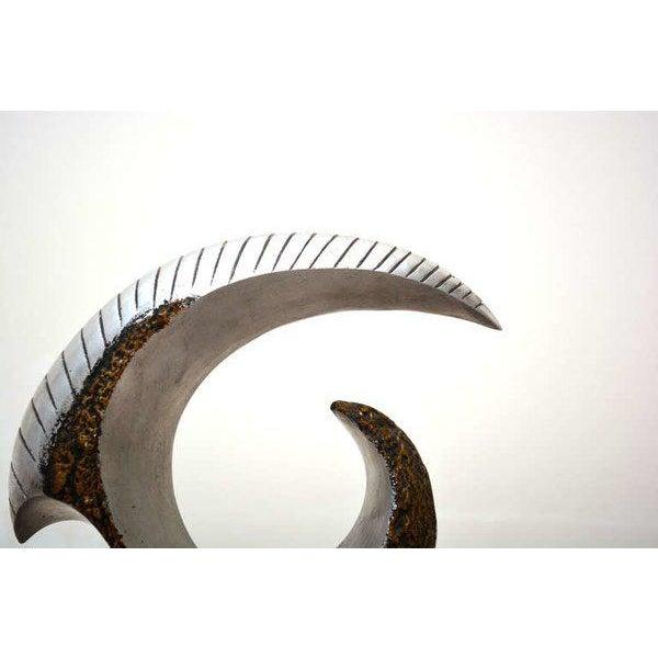 Modernist Aluminum Sculpture For Sale - Image 9 of 10