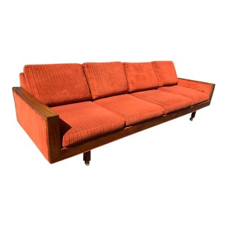 Mid Century Sofa ( Original Upholstery) For Sale