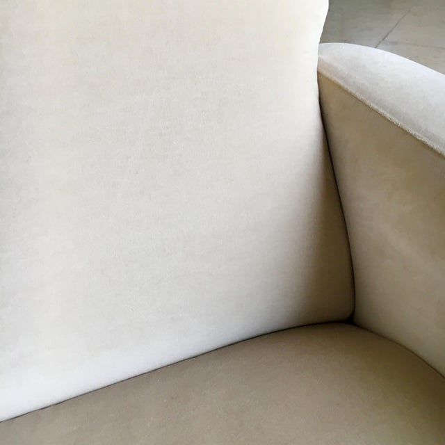 Brass Early Marco Zanuso Designed Two Seater Sofa Circa 1950 For Sale - Image 7 of 10