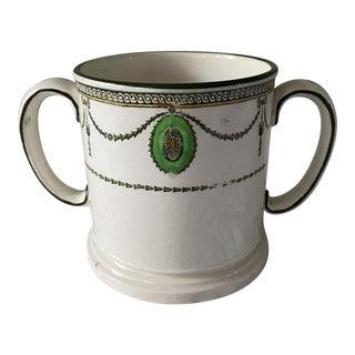 """Royal Doulton """"Countess"""" Two Handled Shaving Mug, 1920s For Sale"""