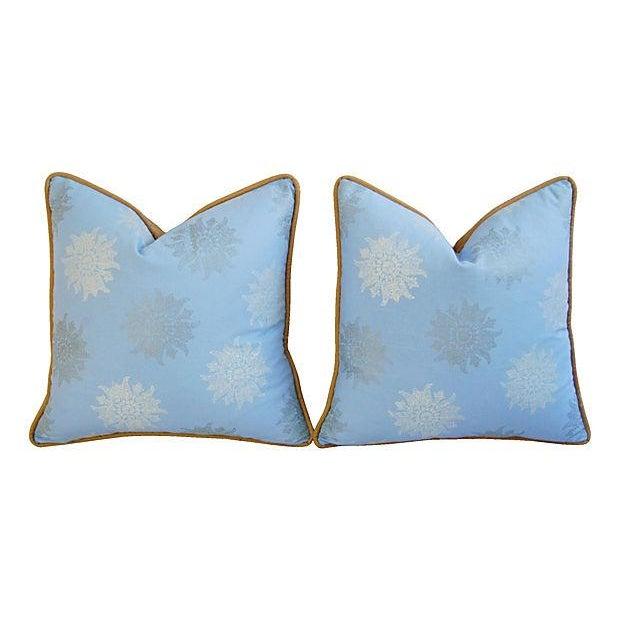Designer Iman Lamu Twilight Aegean Pillows - Pair - Image 7 of 7
