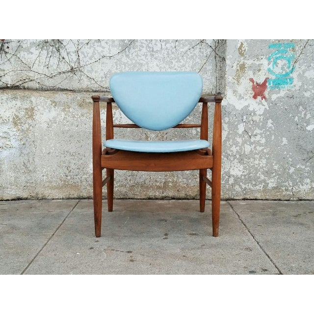 Mount Airy Finn Juhl-Style Vintage Chairs - A Pair - Image 7 of 7