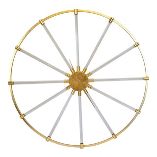 Modern Decorative Wheel Wall Clock For Sale