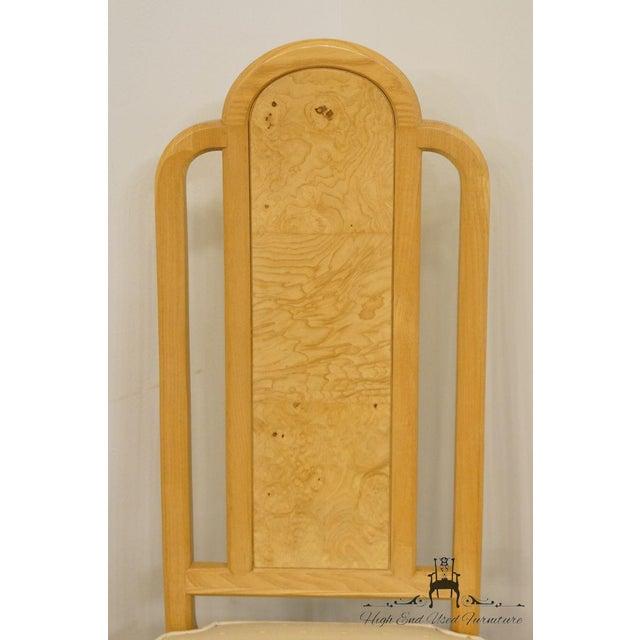 Henredon Scene Two Burled Olive Splat Back Dining / Side Chair For Sale - Image 9 of 13
