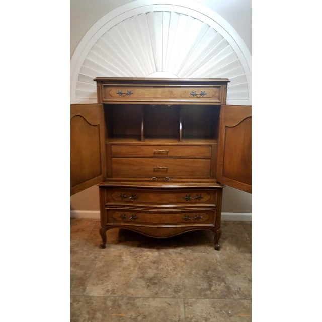 Louis XV Louis XV Style Highboy by Century Furniture For Sale - Image 3 of 8