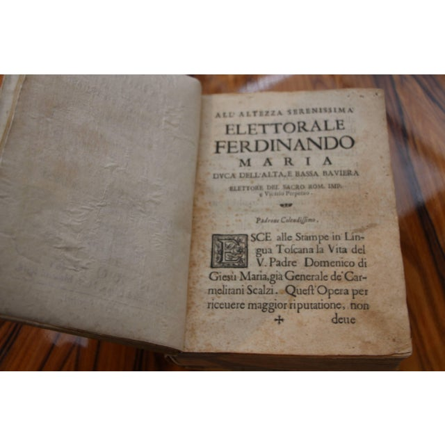Paper 1668 Vellum Covered Text Published in Rome For Sale - Image 7 of 10