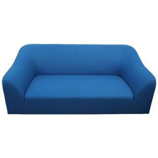 "Eric Jourdan for Ligne Roset ""Snowdonia"" Sofa in Peacock Wool For Sale"
