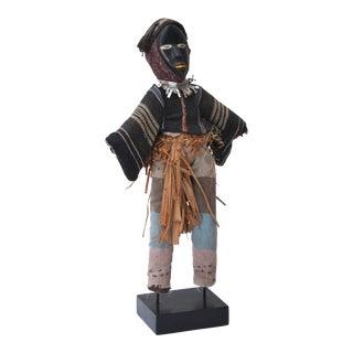 African Dan Stilt Dancer Doll, Ivory Coast For Sale