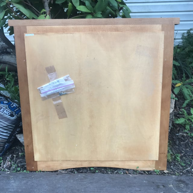 This late mid century modern mirror is in excellent condition and perfect for almost any space. The construction is solid...