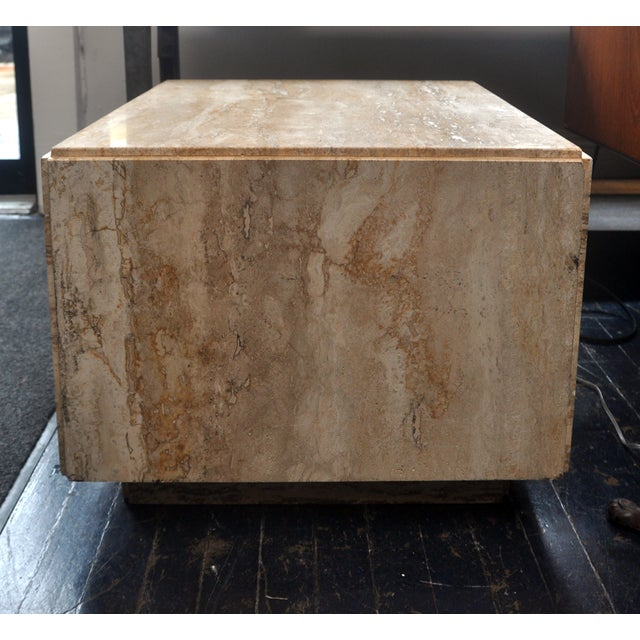 Stone Side Table - Image 2 of 7