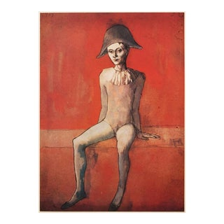 1947 Picasso l'Arlequin Assis Lithograph For Sale