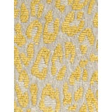 Image of Scalamandre Leopard Misted Yellow Fabric For Sale