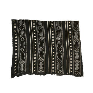 African Mudcloth Black& White Mali For Sale