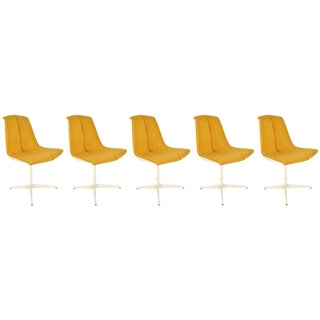 Richard Schultz for Knoll Dining Chairs - Set of 5 For Sale