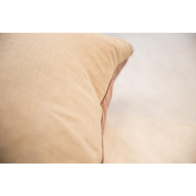 Old New House Made in Usa Luxe Velvet Throw Pillow For Sale - Image 4 of 9