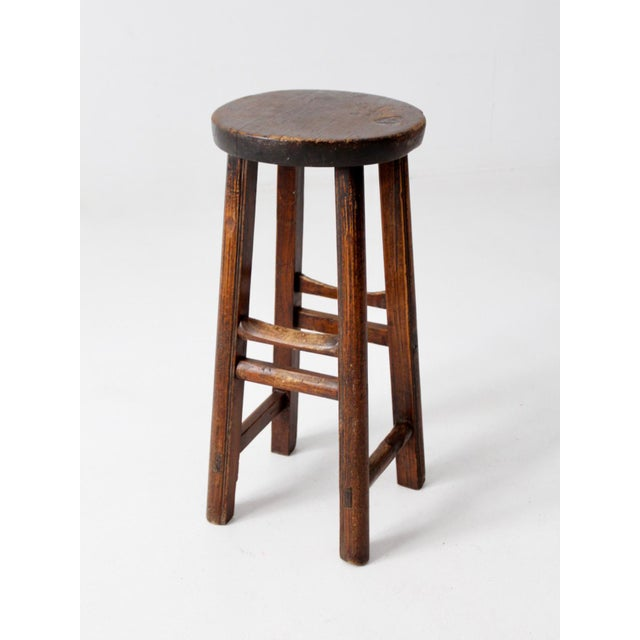 Antique Chinese Stool For Sale - Image 4 of 11