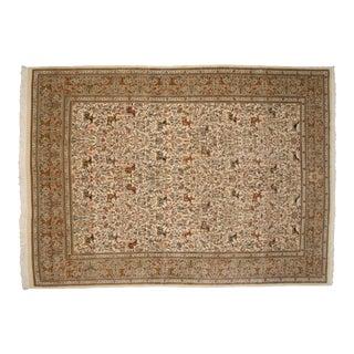 """Vintage Tabriz Carpet - 11' X 15'1"""" For Sale"""
