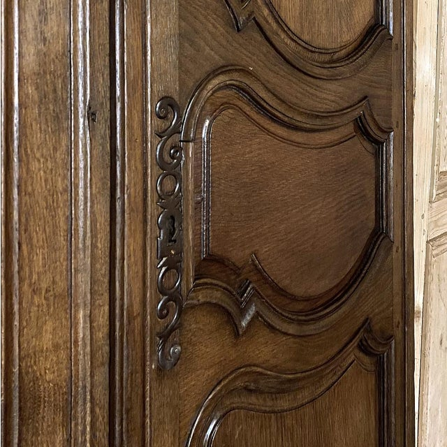 Wood Pair Plaquards ~ Armoire or Cabinet Doors, 19th Century For Sale - Image 7 of 12