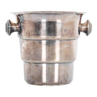 1920s Silver-Plated Ice Bucket For Sale