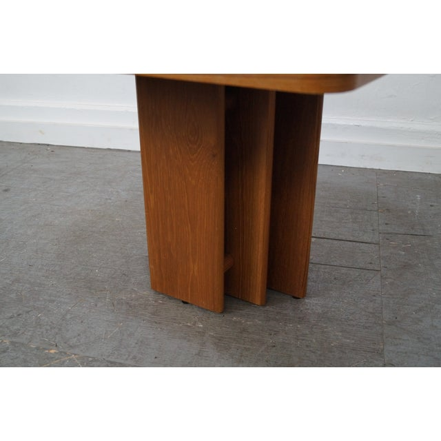 Danish Modern Teak & Travertine Coffee Table - Image 5 of 9