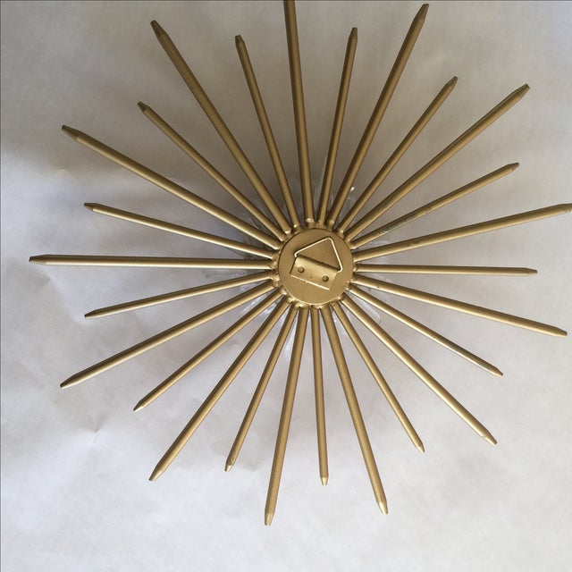Mid-Century Natural Crystal Starburst Wall Decor - Image 6 of 9