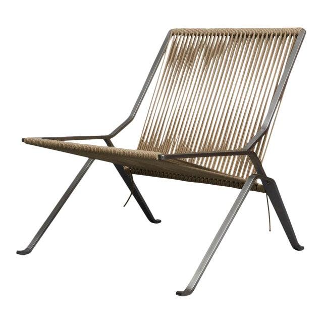 Poul Kjaerholm PK-25 Lounge Chair For Sale