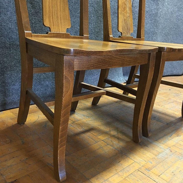 Pottery Barn Loren Dining Chairs - A Pair - Image 4 of 5