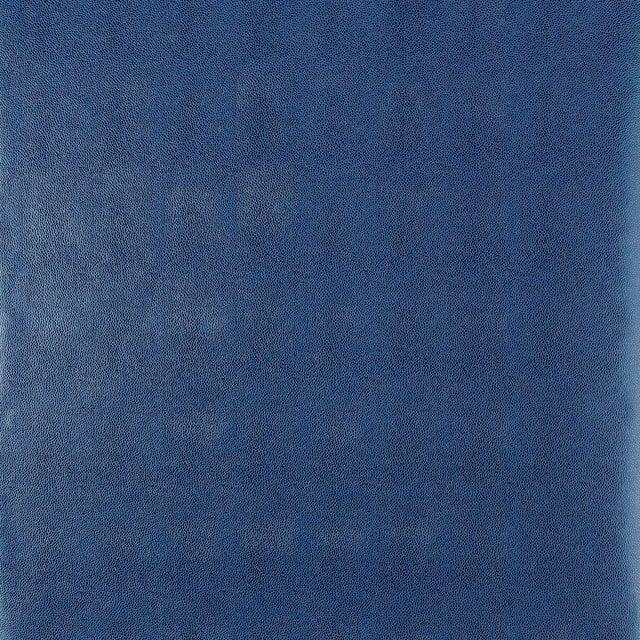 Schumacher Shagreen Wallpaper in Ultramarine For Sale