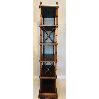 Brandt Hollywood Regency Faux Bamboo Etagere Preview