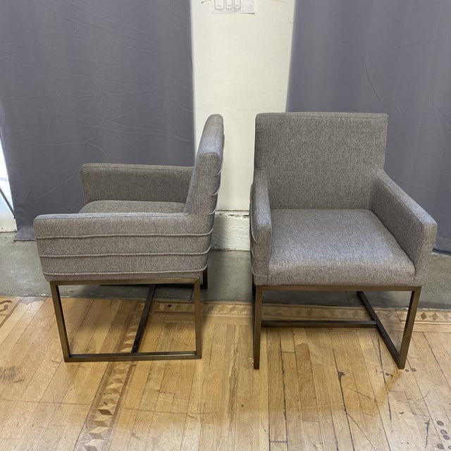 Metal Universal Furniture Cooper Chairs - Set of Six For Sale - Image 7 of 13