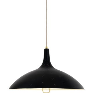 Black Paavo Tynell '1965' Pendant Lamp For Sale