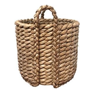 Raqi Round Seagrass Basket For Sale