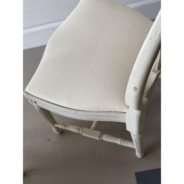 Mid 20th Century Mid 20th Century Swedish Dining Chairs - A Pair For Sale - Image 5 of 12